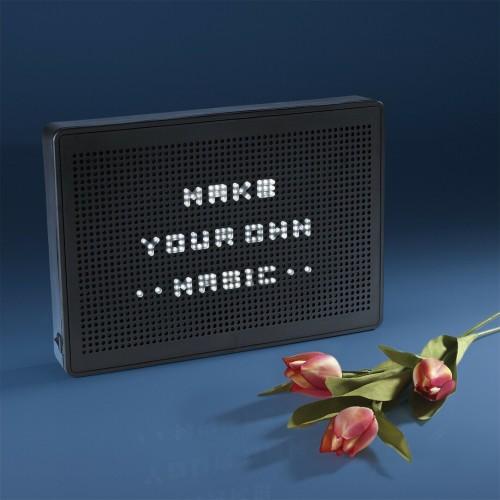 LED  светеща кутия за съобщения
