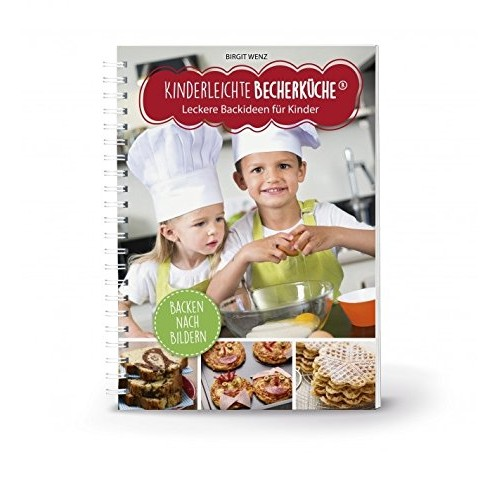 Детска книга с рецепти за сладкиши на немски език