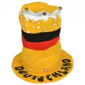 Футболни фенски шапки на Германия с мелодия