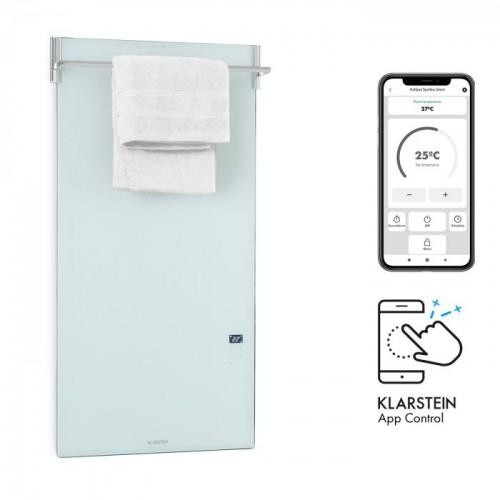 Инфрачервен нагревател за баня KLARSTEIN Hot Spot Crystal Spotless Smart