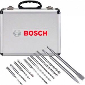 Комплект свредла, шило и секач BOSCH SDS-Plus