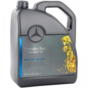 Синтетично моторно масло MERCEDES-BENZ 229.3 5W40, 5 л.