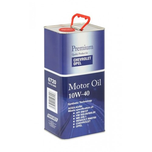Полусинтетично моторно масло Opel - Shevrolet, 10W40, 5 л.