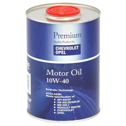 Полусинтетично моторно масло Opel - Shevrolet, 10W40, 1 л.