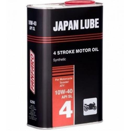 Масло 4 Т Japan Lube-Мотоциклети, ATV, Скутери, 1 л.