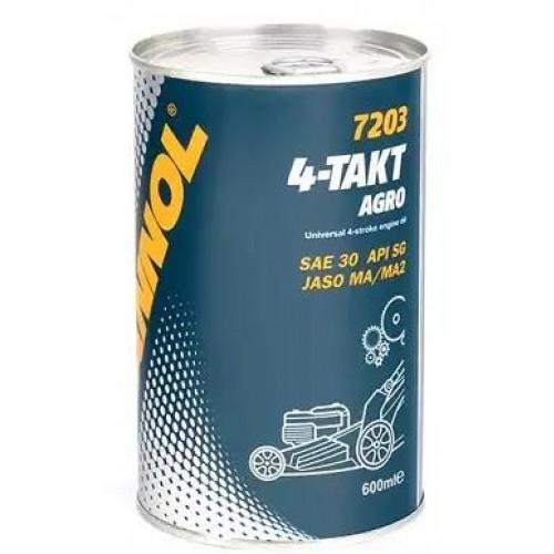 Масло 4 Т AGRO - косачки, генератори и мотофрези, 0.600 мл.