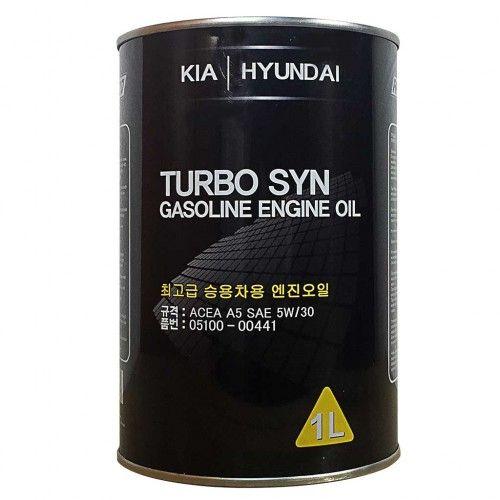 Синтетично моторно масло Kia-Hundai 5W30, 1 л.